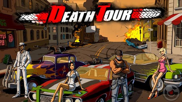 تحميل لعبة سباق الموت DeathTour v1.0.37 مهكرة للاندرويد