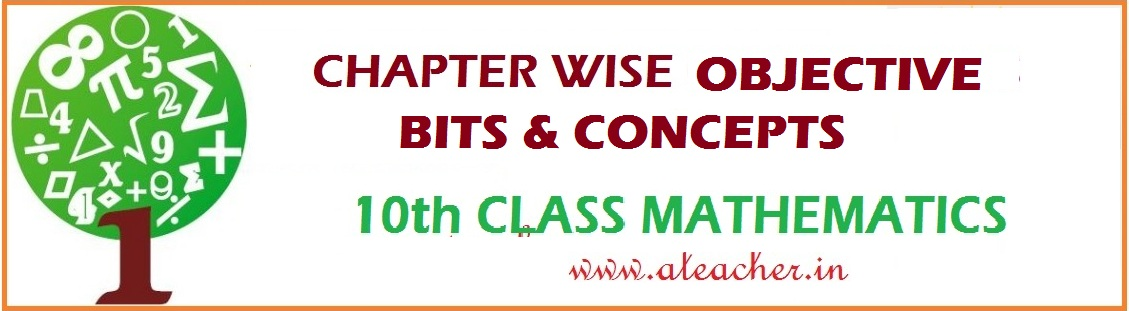 MATHEMATICS CHAPTER WISE DIVISONAL BIT PAPERS FOR SSC (10th CLASS) STUDENTS