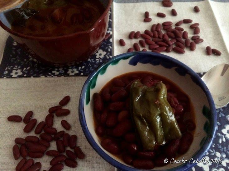 judías-rojas-plato