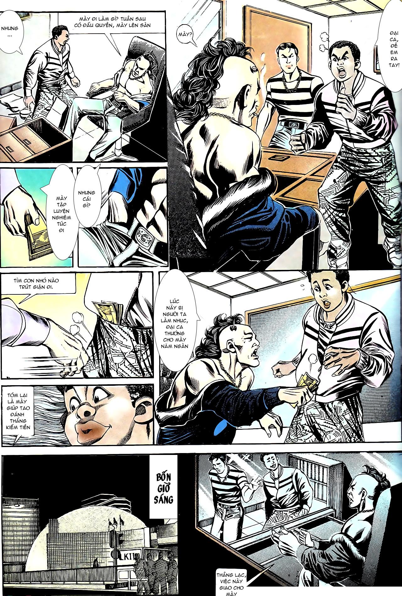 Người Trong Giang Hồ chapter 153: xích mích trang 10