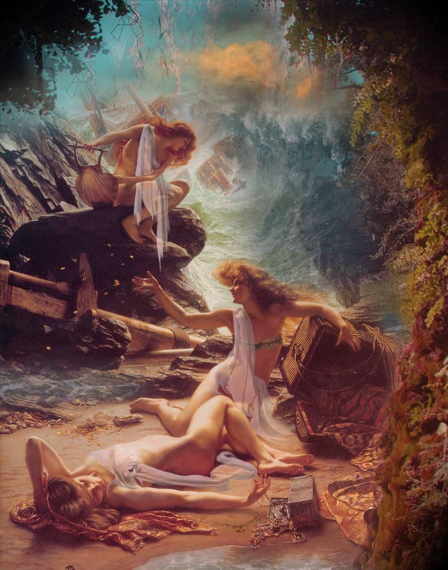 Οι Σειρήνες μεσα στην Ελληνικη μυθολογία