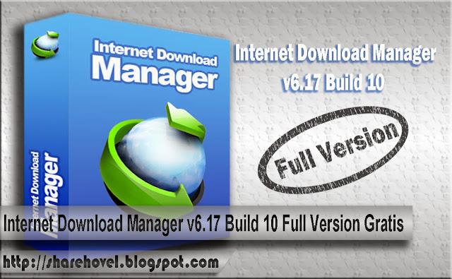 cover_Internet Download Manager v6.17 Build 10 Full Version Gratis_by_sharehovel
