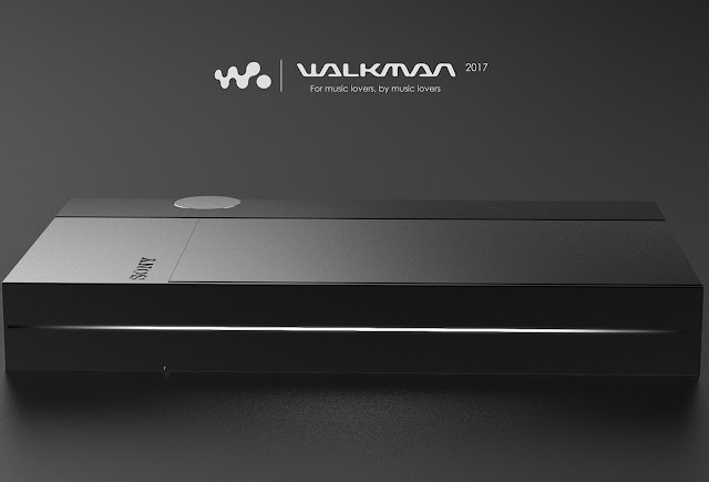 Sony Walkman Redesign 2018