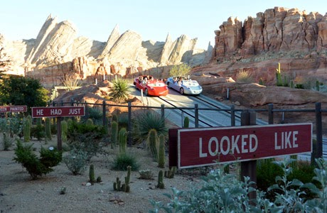 Cars Land, California Adventure, Disneyland Resort