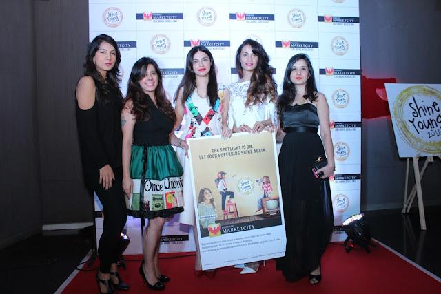 Gwen Athaide, Priya Kumar, Divya Khosla Kumar, Karishma Modi, Amy Billimoria at Shine Young Launch, Phoenix Marketcity, Kurla 2