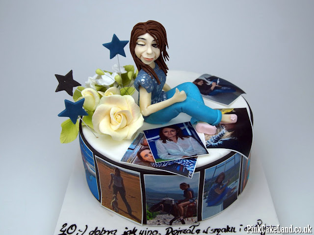 40th Birthday Cake for Woman