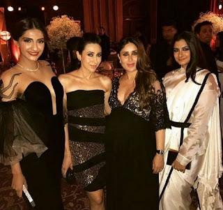 Sonam, Karishma, Rhea and Kareena also presented in that party
