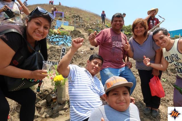 Lima, Cementerio de Nueva Esperanza. Famiglia Mendoza García