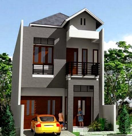 Model Rumah Tingkat Minimalis  Design Rumah Minimalis