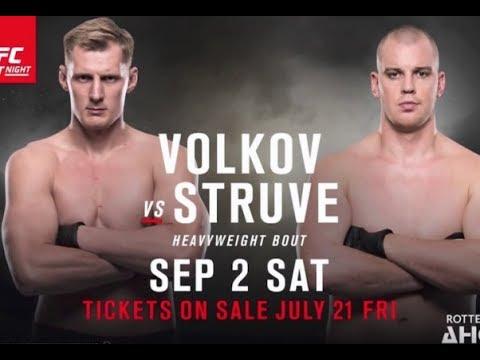 Стефан Штруве vs Александр Волков