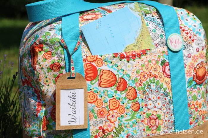Sommer-Reisetasche XXL von farbenmix (Taschenspieler 3)