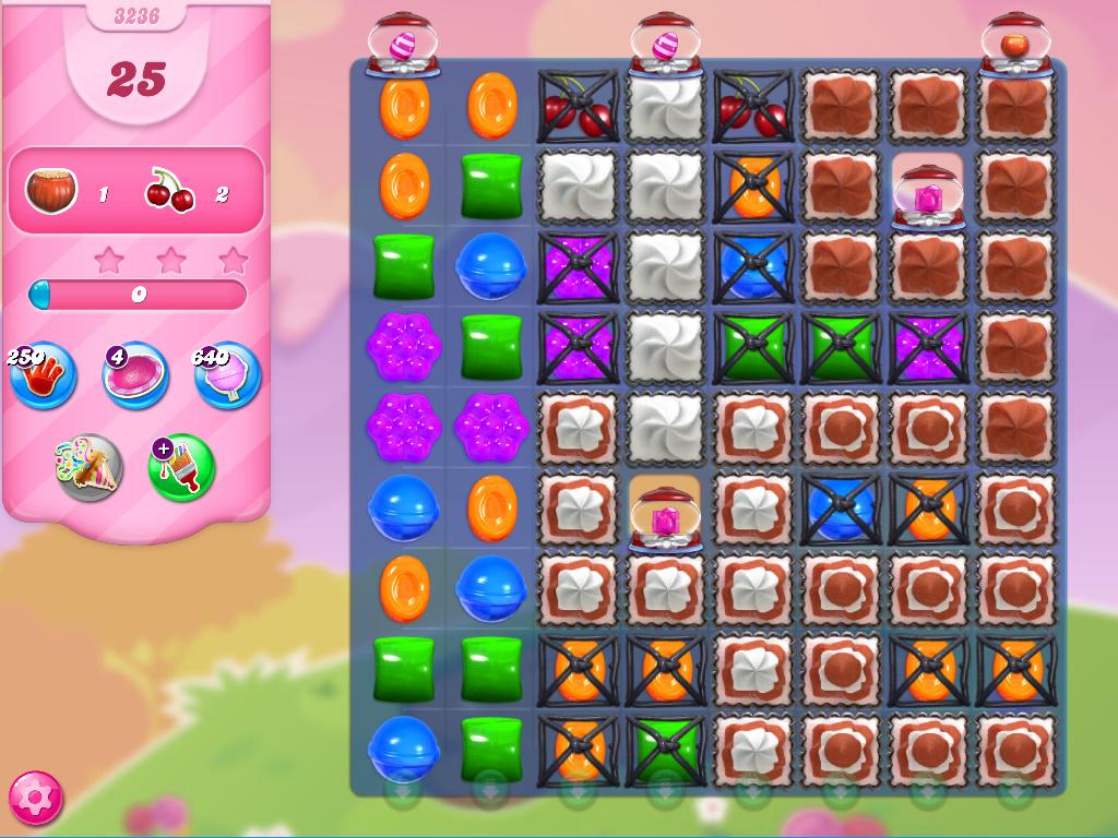 Candy Crush Saga level 3236