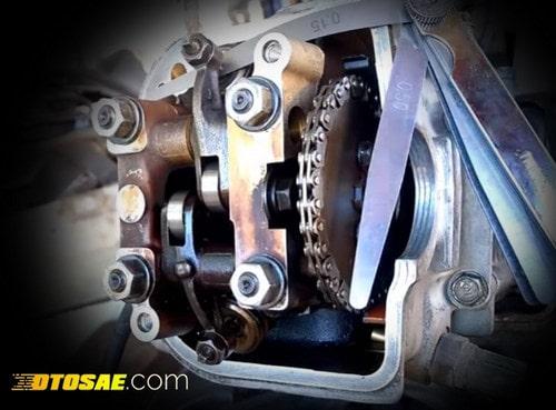 Ukuran Setelan Klep Motor Standar