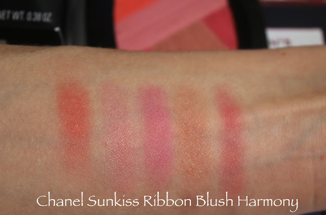 Chanel blush swatch