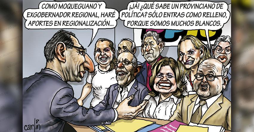 Carlincaturas Lunes 10 Junio 2019 - La República