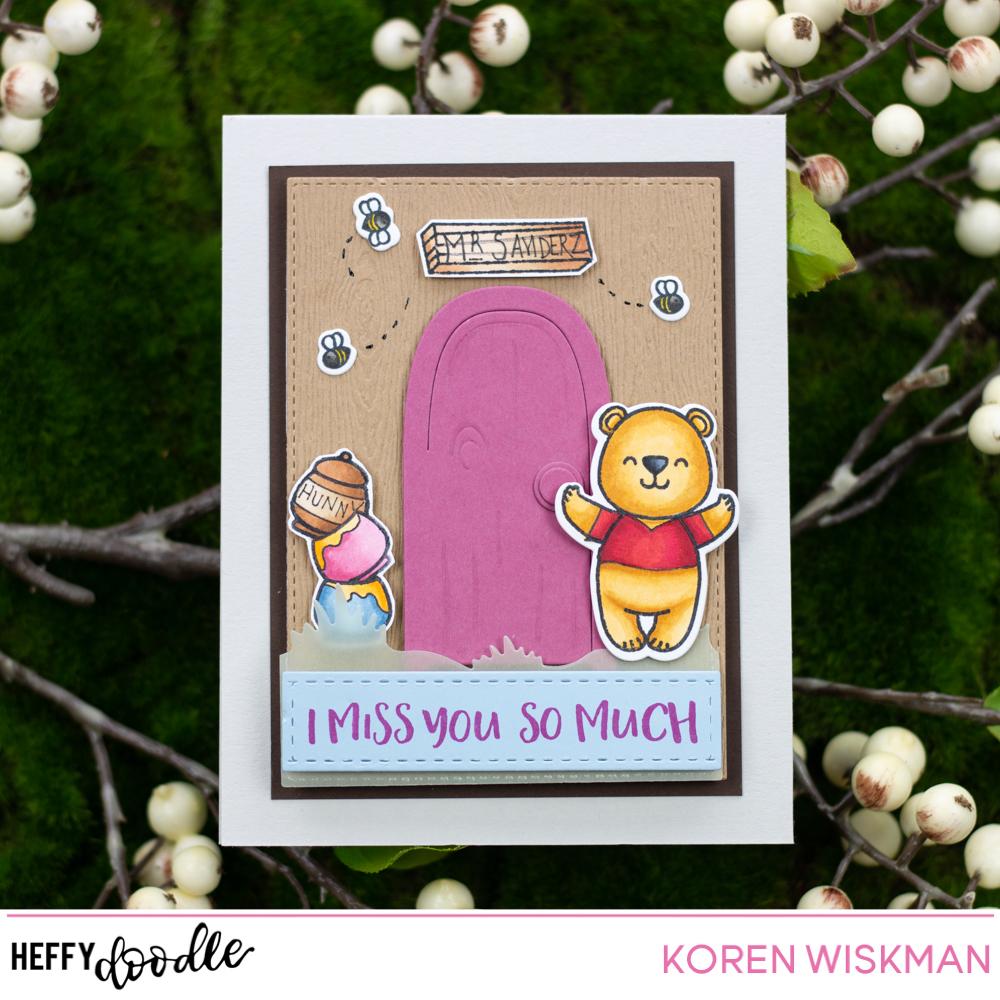 Koren Wiskman : Heffy Doodle Pooh\'s House Card Video