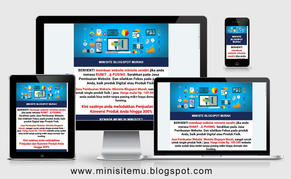 contoh desain toko online blogspot
