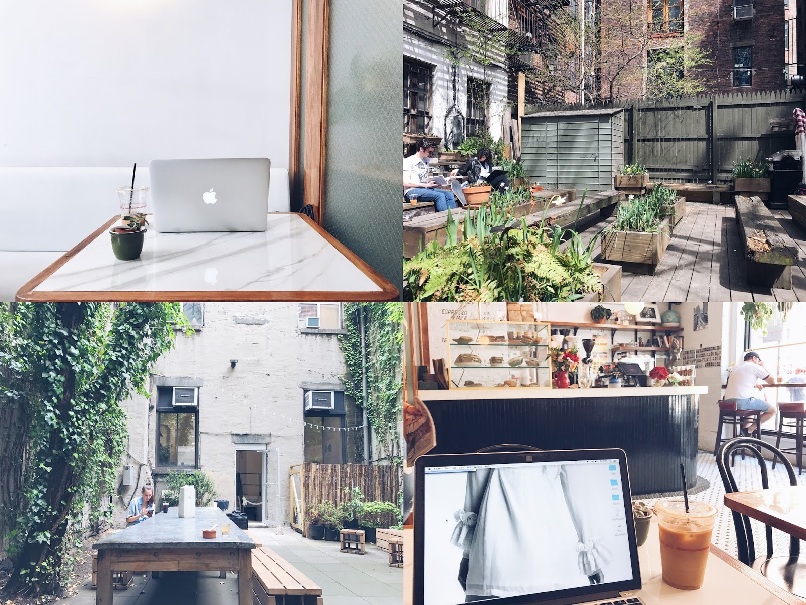 Work + wifi + coffee spots in NYC