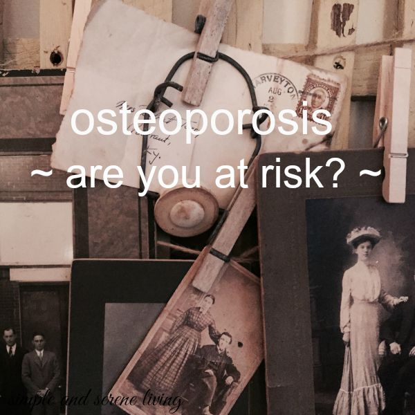 osteoporosis risks