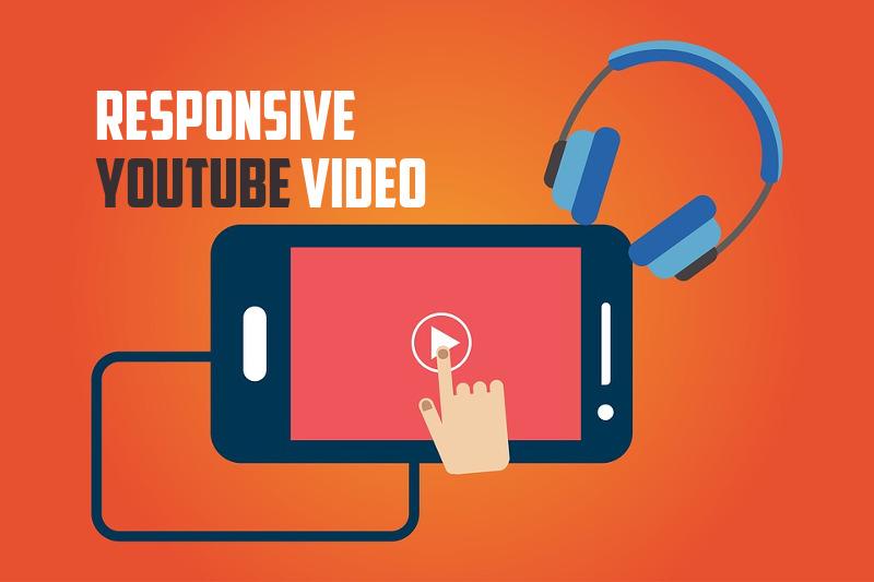 Responsive  YouTube Video IMAGE