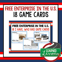 US Economy, Free Enterprise, Economics, Free Enterprise Lesson, Economics Lesson, Free Enterprise Games, Economics Games, Free Enterprise Test Prep, Economics Test Prep