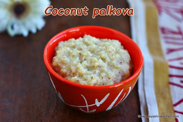 coconut palkova