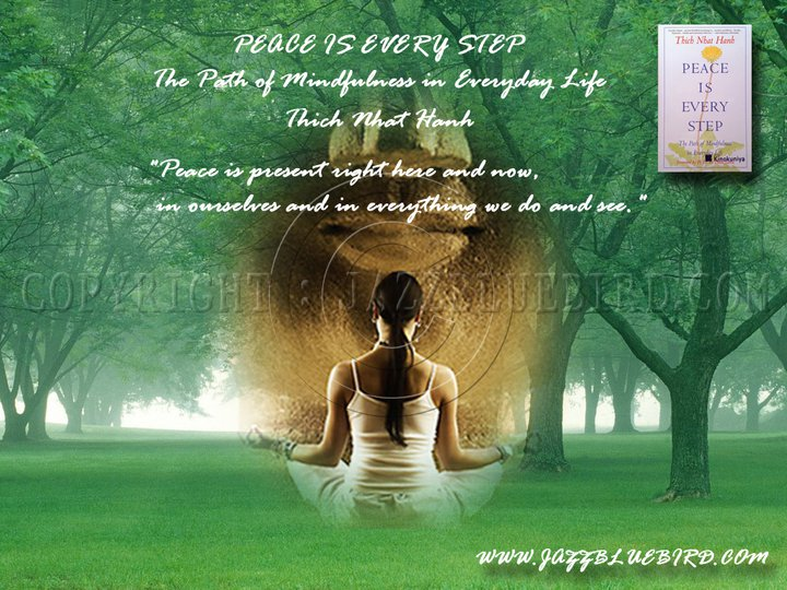 Peace Is Every Step Quotes