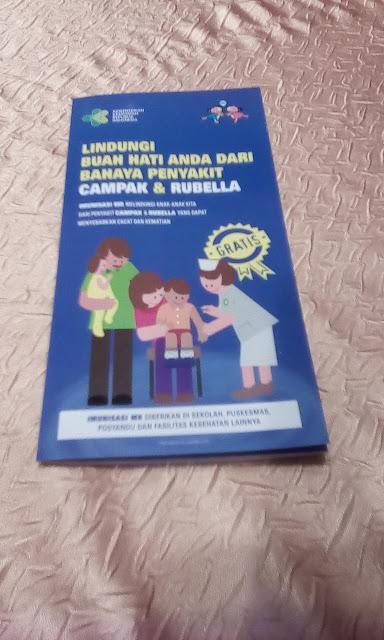 Lindungi anak dari penyakit campak dan rubela dengan imunisasi MR