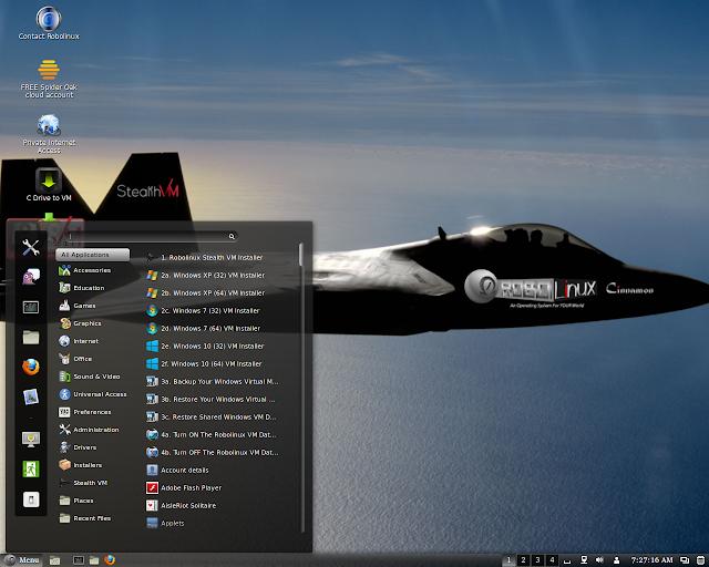 RoboLinux v7 32 / 64 bit Free Download