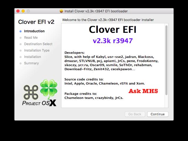 Download Clover EFI Bootloader