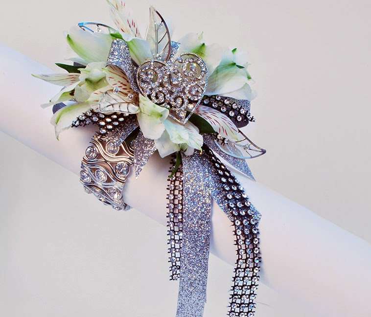 On Trend prom 2015 Collection of Bouquet Jewels for Prom corsages & nosegays