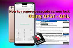 Remove Lock Screen Pattern Using QFIL
