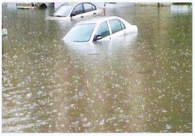 """تشمل القاهرة.. """"التنبؤ بالفيضان"""" يعلن بالخرائط أماكن سقوط الأمطار حتى الثلاثاء"""