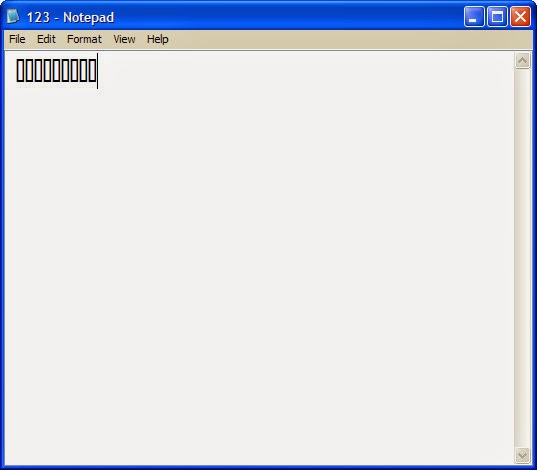 Error In Notepad ! Like a Magic !!!!