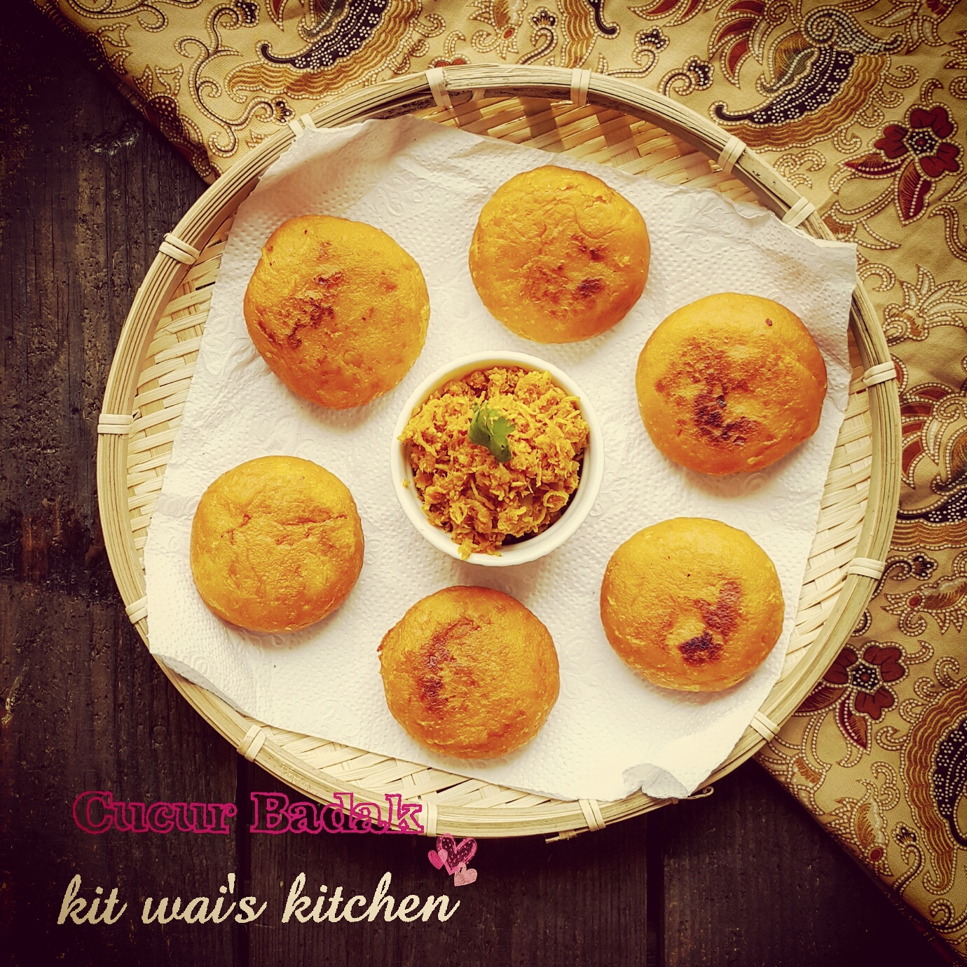 Kit Wai's Kitchen : 三巴虾米番薯煎糕