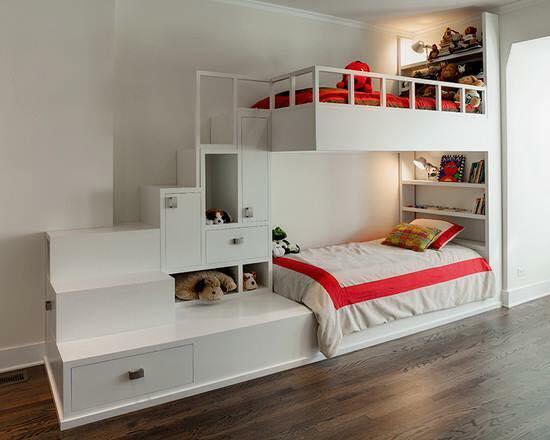 Çocuk odası için ranza örnekleri
