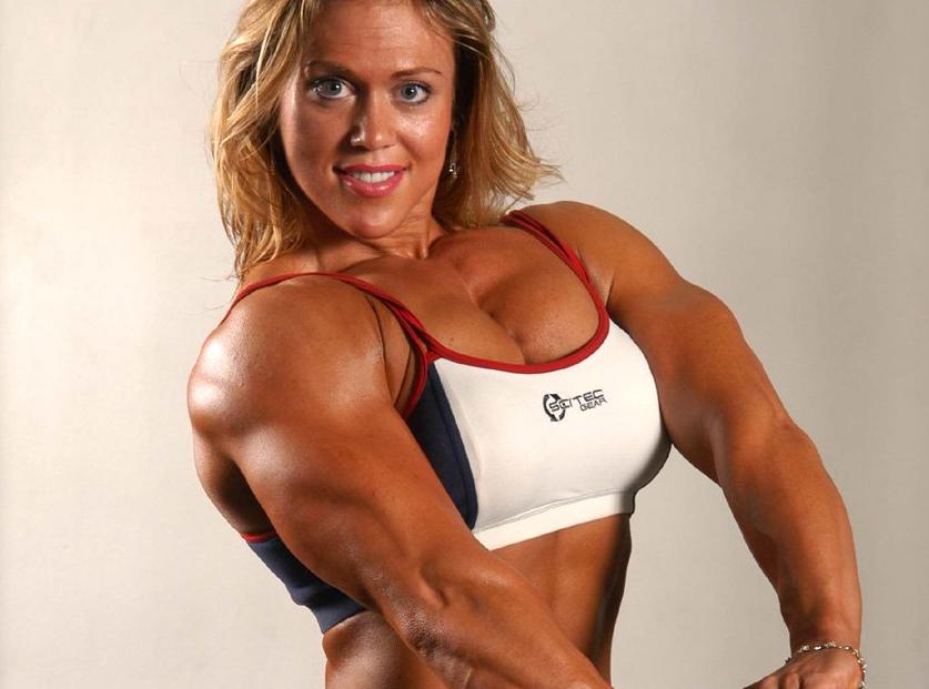 Colette Nelson American professional female bodybuilder