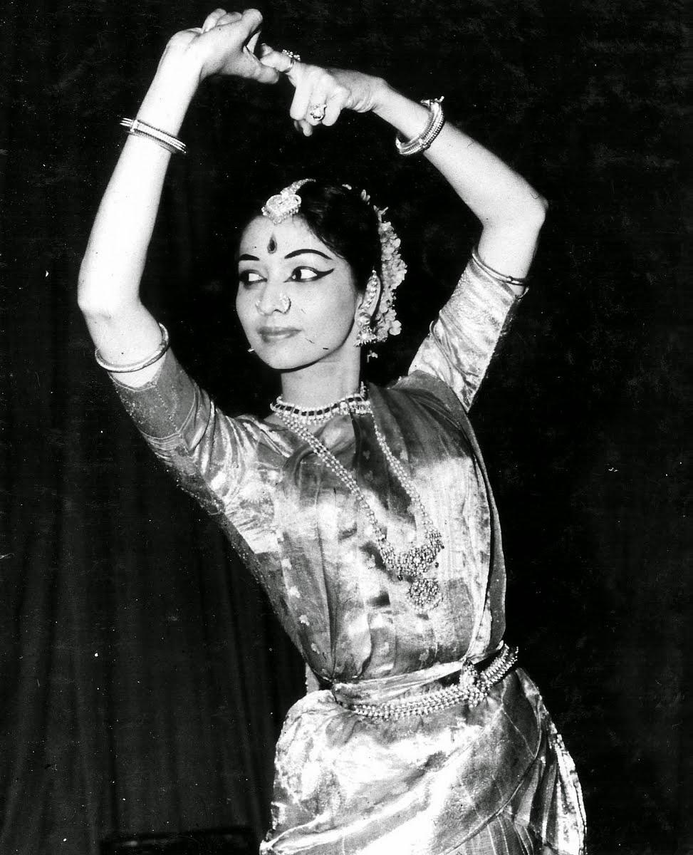 Eminent Indian Bharatnatyam and Kuchipudi Dancer Yamini Krishnamurthy - 1964