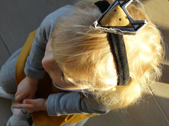 lisia opaska na głowę 2