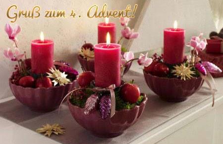 4 advent grussbilder adventsbilder. Black Bedroom Furniture Sets. Home Design Ideas