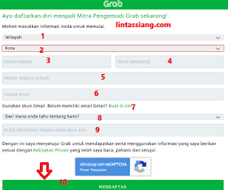 Cara Daftar Grab Sidoarjo Jawa Timur Online 2018