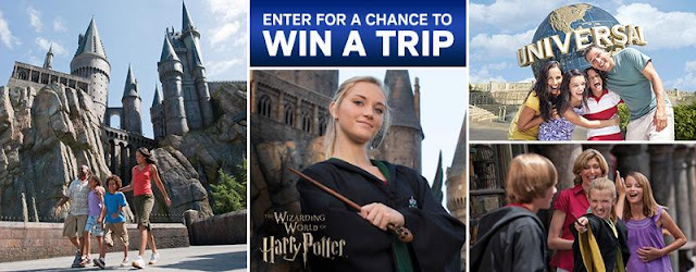 Christmas Harry Potter Sweepstakes