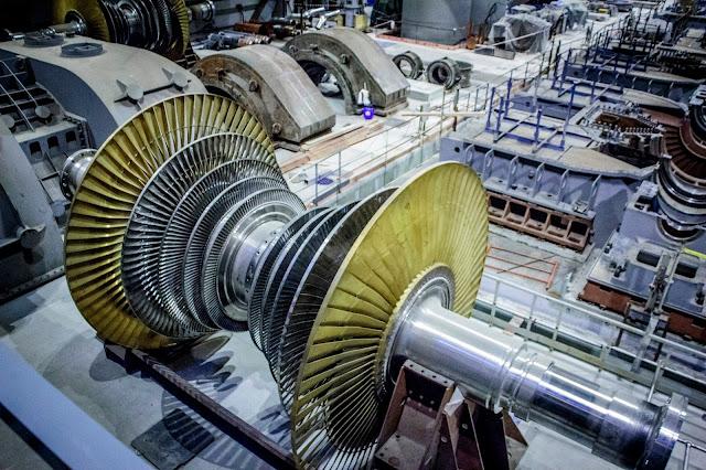 Турбина Ленинградской атомной электростанции