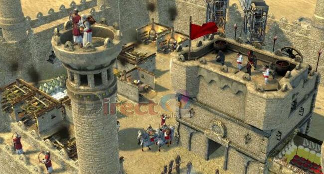 لعبة صلاح الدين سترونج هولد Stronghold 2