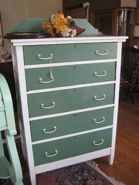 Vintage Cottage Style Painted Furniture