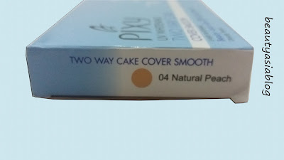 Pixy UV Whitening Two Way Cake Cover Smooth Natural Peach