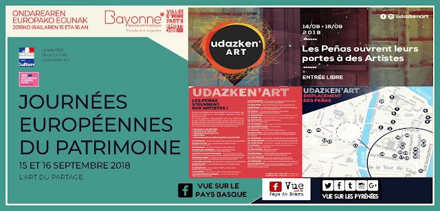 Les Journées Européennes du Patrimoine Bayonne 2018