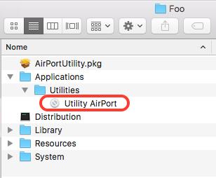 - utilitaire airport 5.6.1 pour windows