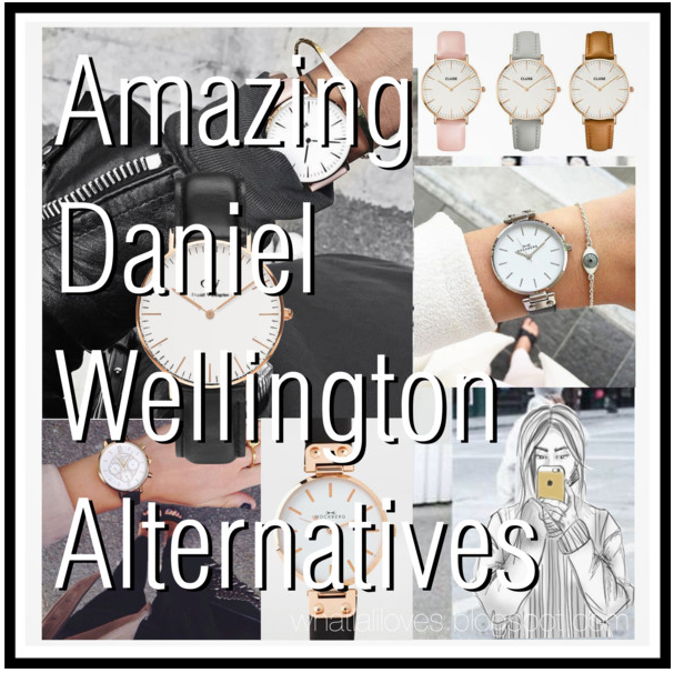 Daniel Wellington alternatives pinterest