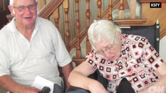 Πέθαναν στο ίδιο δωμάτιο με διαφορά λίγων λεπτών μετά από 63 χρόνια γάμου!